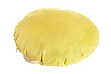 ROUND PILLOW BEANBAG 80CM YELLOW