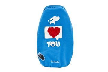 Imagen de OFF T-SHIRT I LOVE YOU 50CM