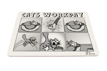Εικόνα της WORKDAY CATS MAT 43X30CM