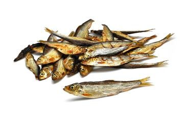 BAG DRIED FISH DOG 8CM-210GR