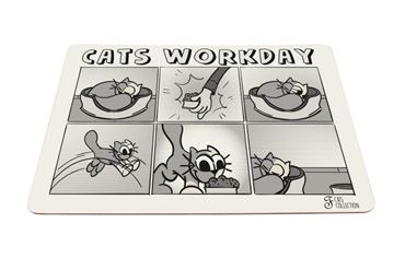WORKDAY CATS MAT 43X30CM