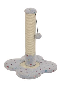 SOFT CAT TREE 33X33X45CM LIGHT BLUE