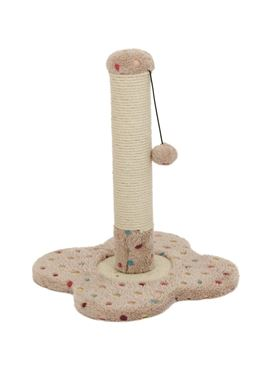 SOFT CAT TREE 33X33X45CM BEIGE