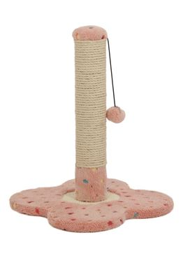 SOFT CAT TREE 33X33X45CM PINK