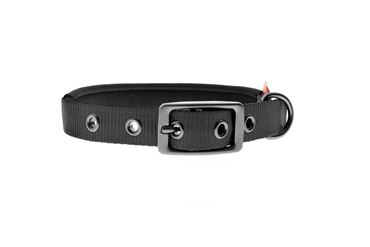 PADDED NYLON COLLAR 45X2CM BLACK