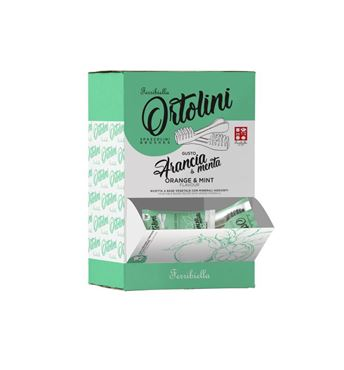 BOX ORTOLINI ORANGE MINT BRUSH (36)
