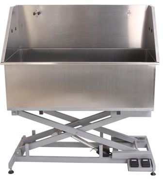 STAINLESS STEEL TUB ELECTRIC BASE