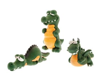 LATEX DRAGONS 25CM - 9PCS