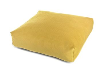 VELVET PILLOW 60X60-H.15CM YELLOW