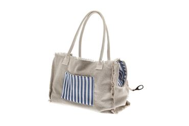 Bild von SABBIA COTTON BAG 43X30X19CM BLUE