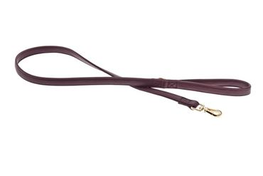 LEASH MOKKA S 1,5X120CM BORDEAUX