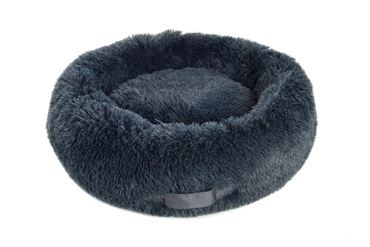 NUVOLETTA DOGBED L D.80CM CHARCOAL GREY