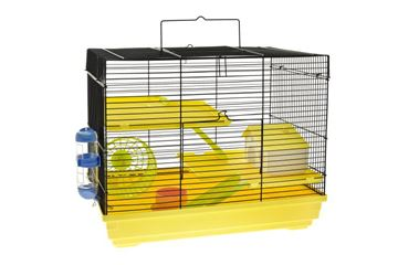 HAMSTERS CAGE 47X30X37CM WHITE/BLUE