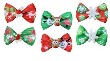 Изображение CHRISTMAS BOWS BOX 50PCS