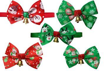 Изображение CHRISTMAS BOW TIE BAG 10PCS