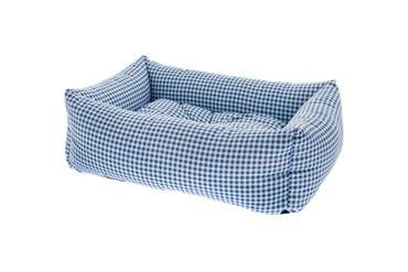Bild von RECT. PET BEDS VICHY 2PCS 55-70CM BLUE